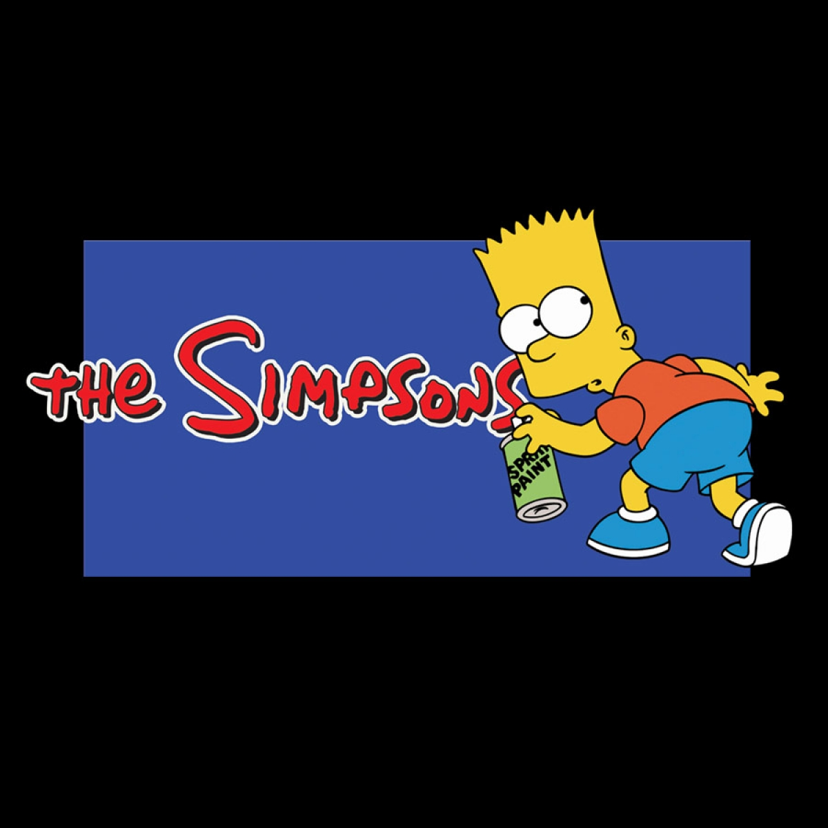 The Simpsons Print Signage