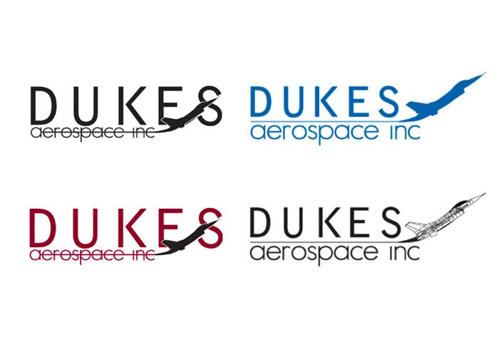 Dukes Aerospace Logo Concepts