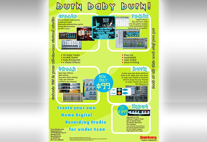 Steinberg Cubase – Magazine Ads