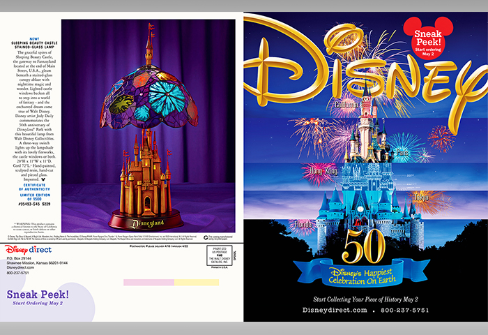 Disney Catalog – Disneyland Mini Catalog