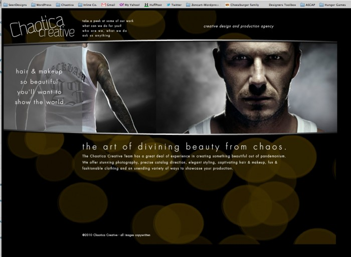 Chaotica Creative Website