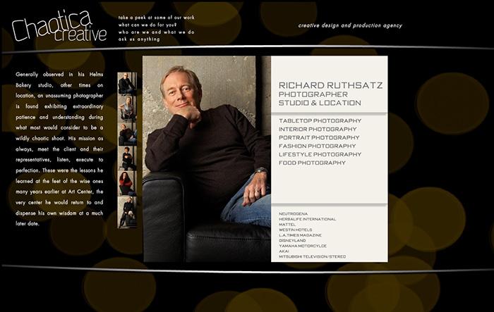 Chaotica Creative Bio Page