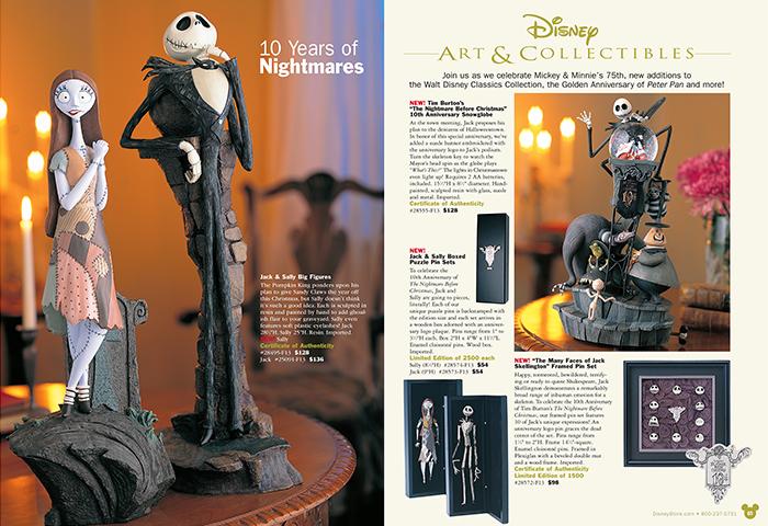 Disney Catalog Layouts