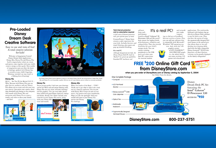 Disney Dream Desk_pg 2-3