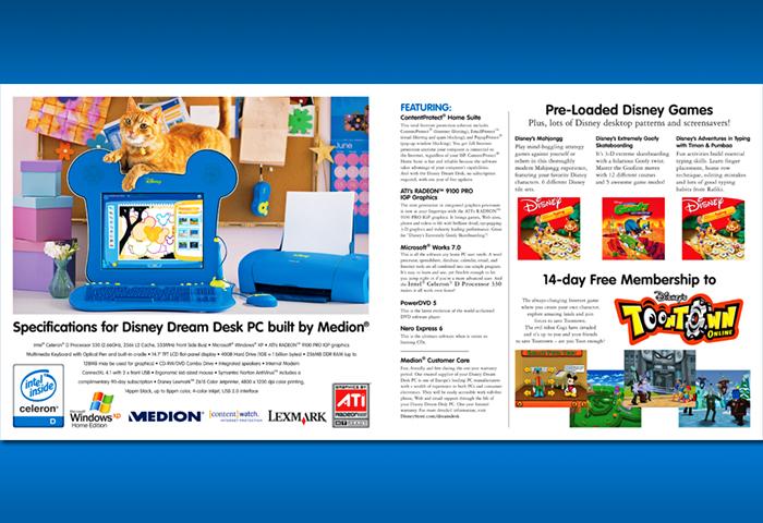 Disney Dream Desk Brochure_pg 6-7
