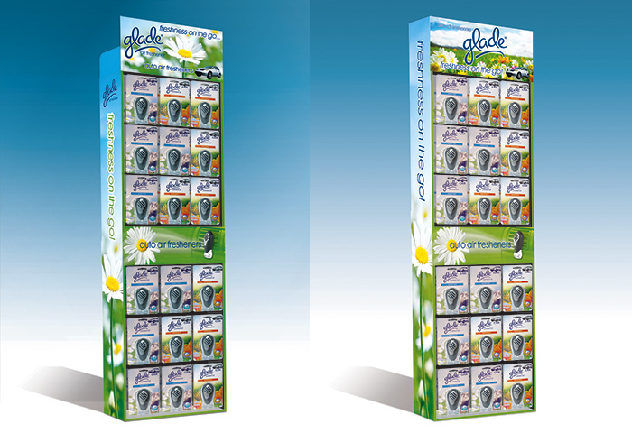 Auto Expressions-Glade 3D POP Display Concepts