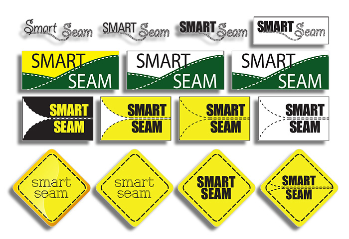 Smart Seam Logo Concept Designs