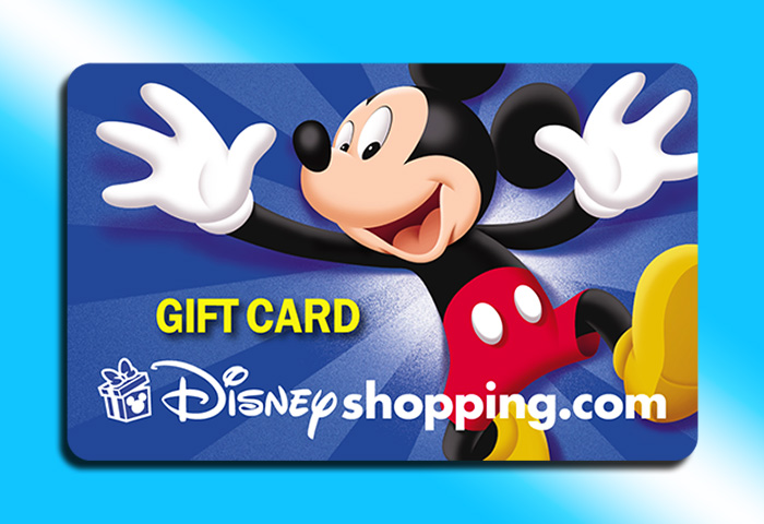 Disneyshopping.com Credit Card Design 1