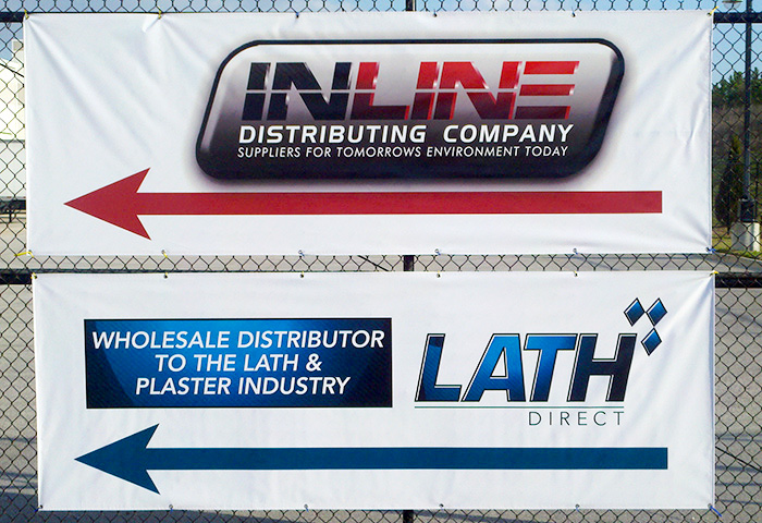 Inline - Lath Direct Banners Installed-Florida