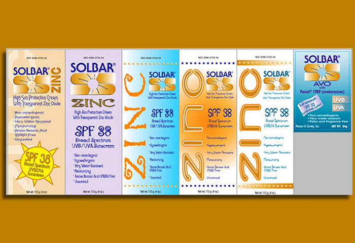 SOLBAR_sun screen labels