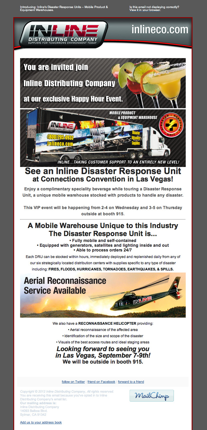 Inline Distributing Company Emails