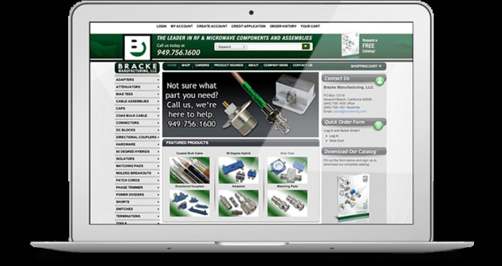 Bracke Manufacturing Company Website