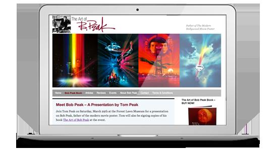 The Art of Bob Peak Homepage