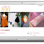 rue de mimo website laptop