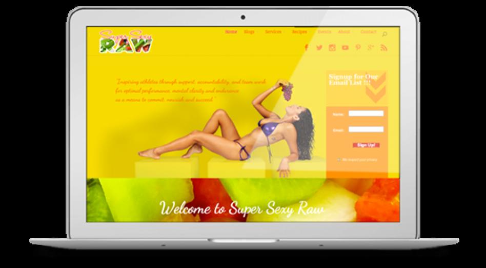 super sexy raw website