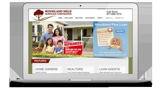 Woodland Hills Mortgage Company Website