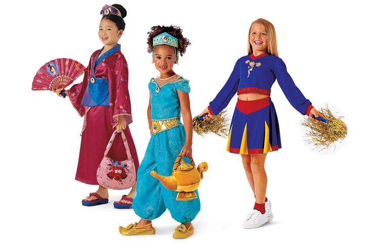 Disney Catalog Art Direction - Costumes
