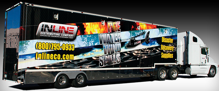 Inline Truck and Helicopter Graphics