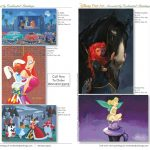 Enchanted Paintings Disney Artists Catalog - pg24-25