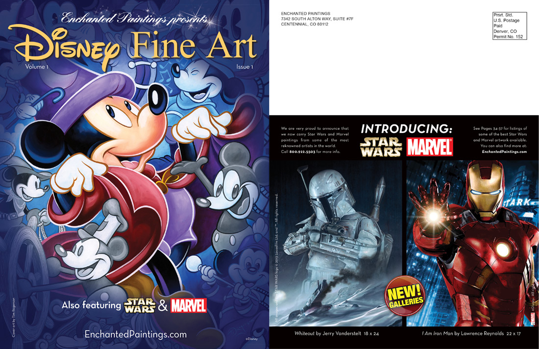 Disney Fine Art by Enchanting Paintings Catalog
