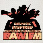 BAWIFM Screen Print