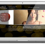 Chaotica Creative Website Layout