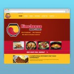 KimCheese Website Layout