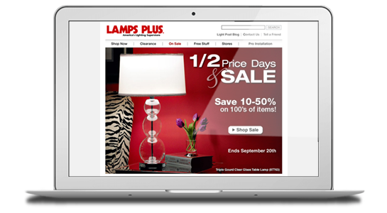 lamps plus email