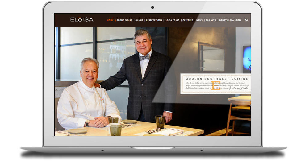 Eloisa Restaurant Website