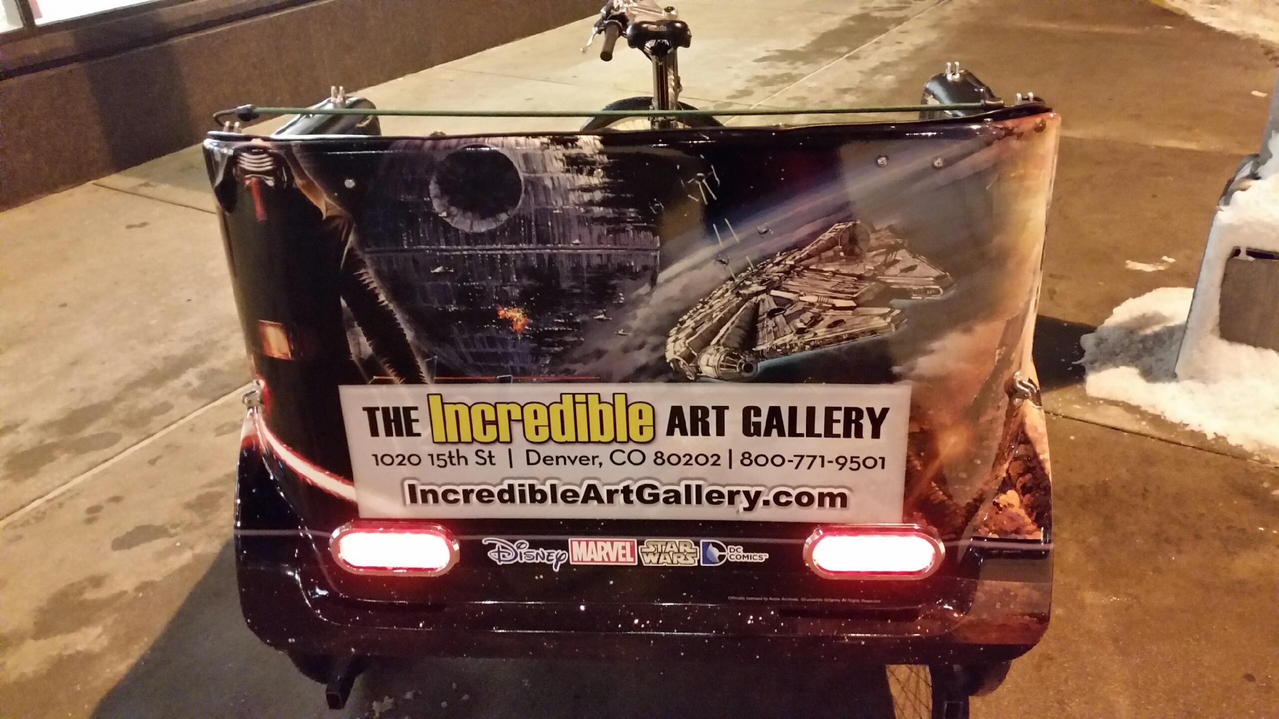 The Incredible Art Gallery Pedi-Cab Design by Seen Designspedicab2