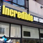 The Incredible Art Gallery Light Up Sign by Seen Designs