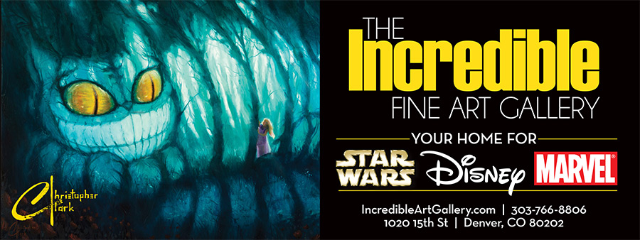 The Incredible Art Gallery 8'x3' Vinyl Banner by Seen Designs