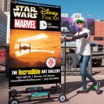 The Incredible Art Gallery Walking Billboard Design by Seen Designs