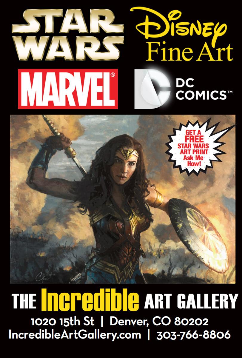 The Incredible Art Gallery Walking Billboard Design by Seen Designs
