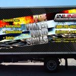 Inline Houston Truck Wrap