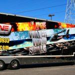 Inline Semi Trailer Vehicle Wrap