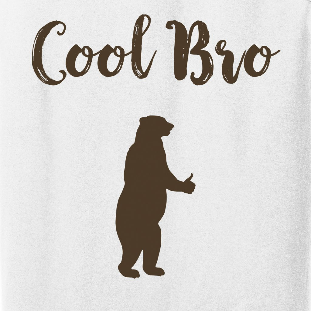 Cool Bro Bear T-shirt