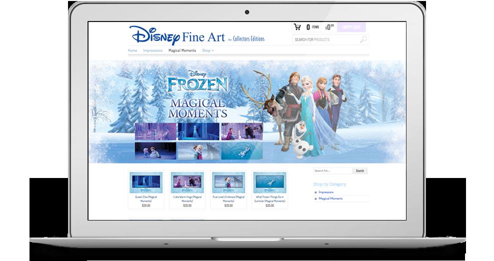 Disney Fine Arts Website
