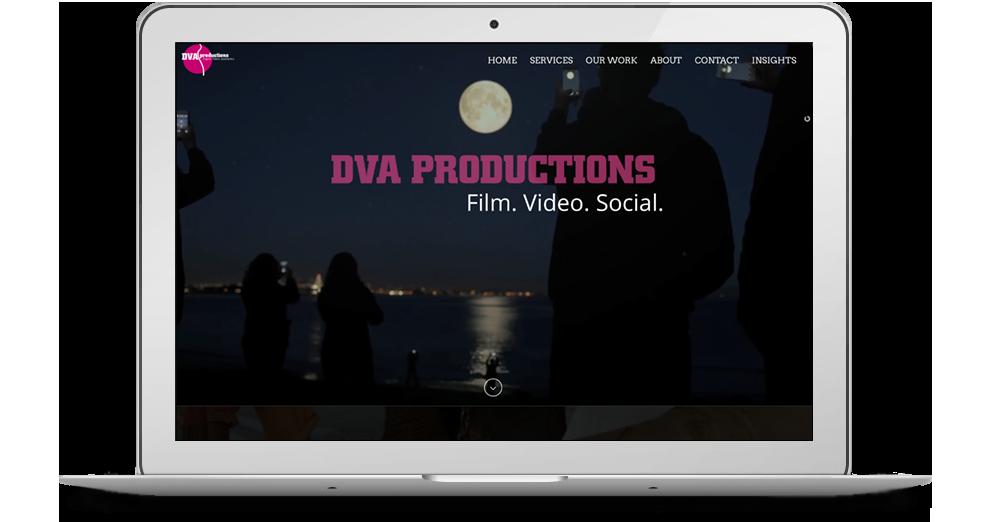 DVA Productions website