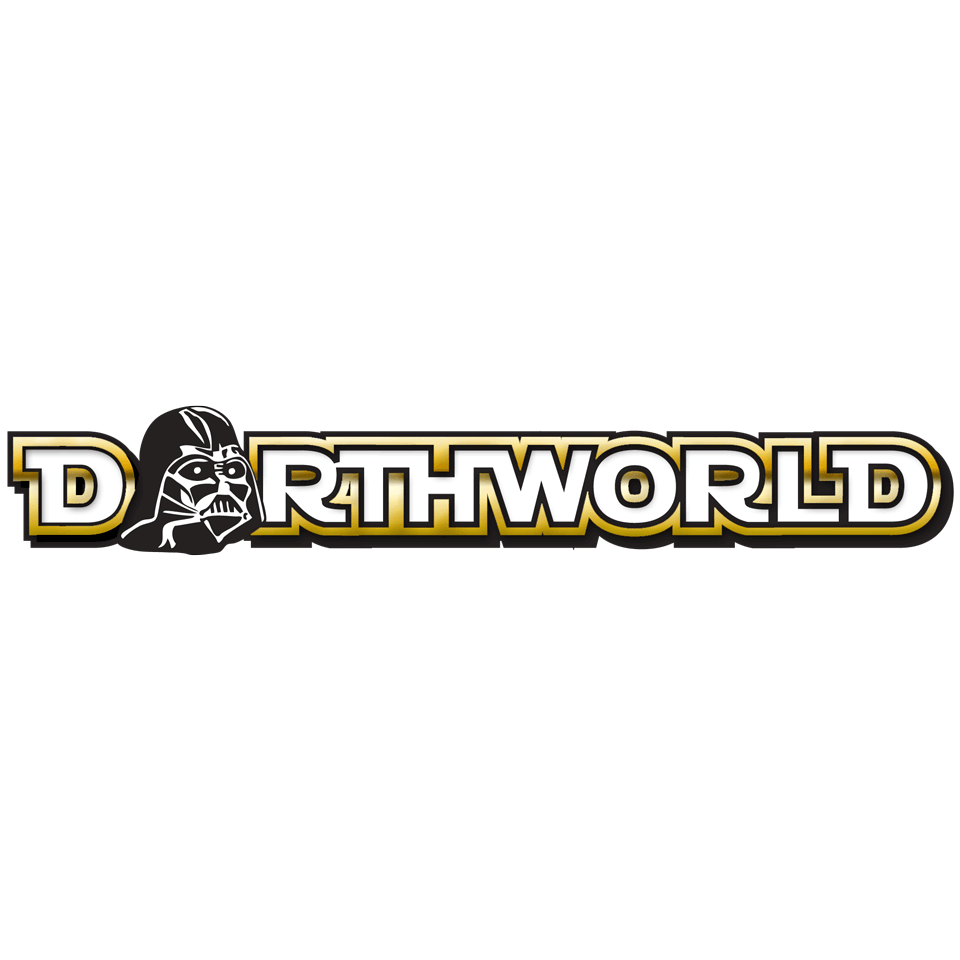 Darthworld Gold Logo