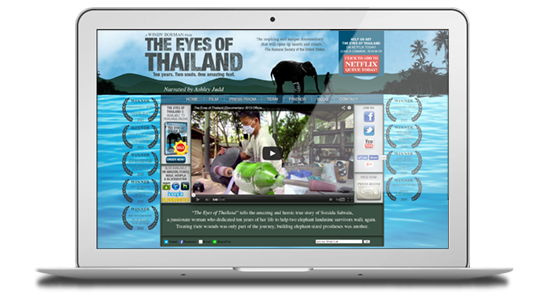 Eyes of Thailand website